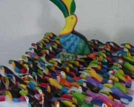 Der Tukan ist ein beliebtes Motiv