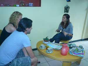 Informationstreffen mit unserer Partneragentur in San José