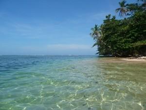 Blaues Wasser und grüne Wälder erwarten Sie im Cahuita Nationalpark