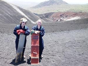Cerro Negro Vulkan bei Leon