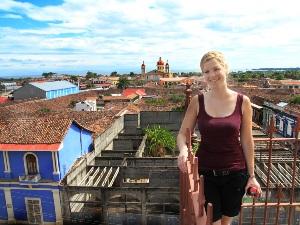 Reisende in Granada