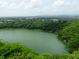 Lagune in Managua