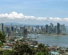 Überrascht durch Panama City