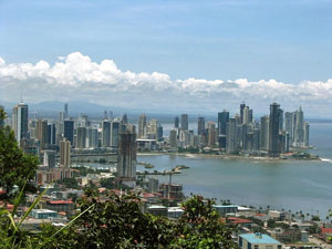 Skyline Panama City Rundreise