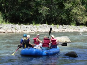 Rafting auf dem Rio Pacuare bei Turrialba