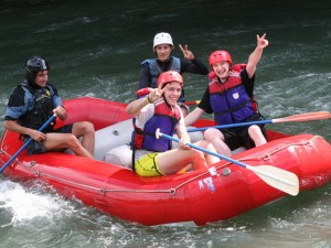 Rafting in Pacuare