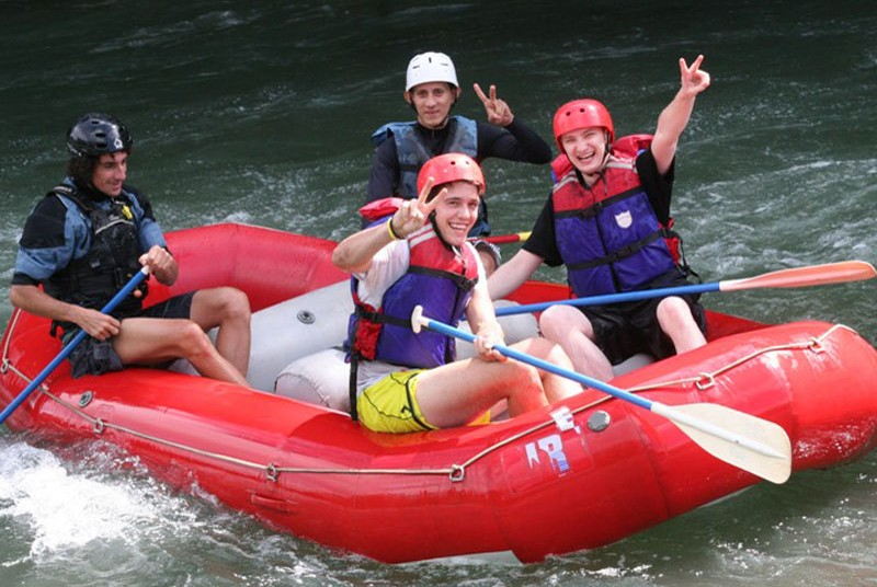 Rafting in Sarapiqui