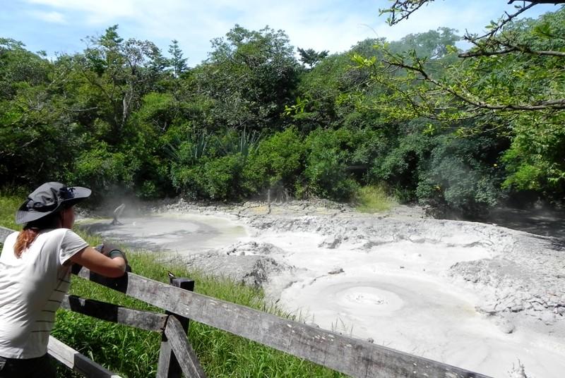 Ein Schlammloch im Rincon de la Vieja Nationalpark