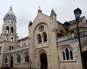 Koloniales Gebäude in Panama City