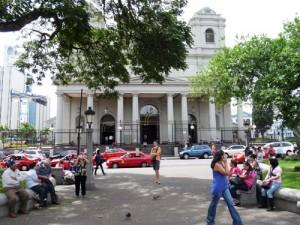 Einer der vielen Parks in San José
