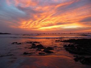 Sonneuntergang in San juan del Sur