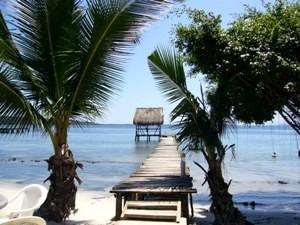 Strand Bocas del Toro Inseln Panama