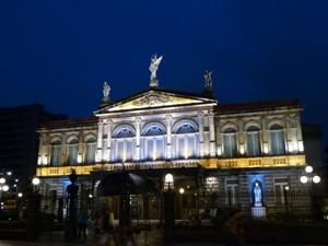 Teatro Nacional in San José bei Nacht