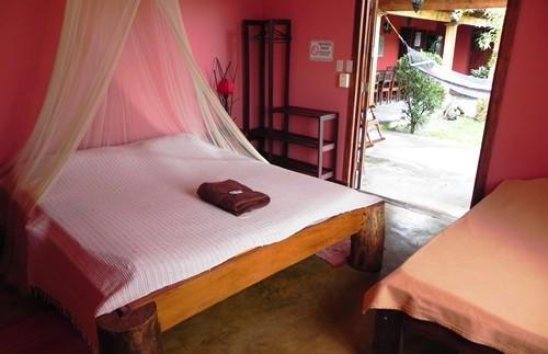 Das Zimmer am Rincon de la Vieja Nationalpark