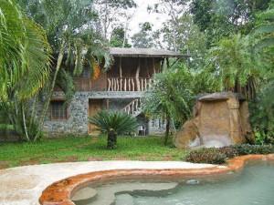 Unterkunft bei der Playa Negra in Cahuita
