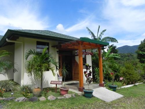 Die komfortable Unterkunft am Tenorio Nationalpark