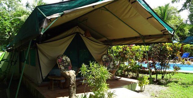 Komfortable Safarizelte in Matapalo