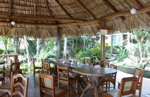 Das Restaurant Ihrer Unterkunft in Ometepe