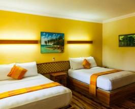 Hotelzimmer auf den Bocas del Toro