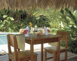 Restaurant in Ihrer Bungalowanlage in Puerto Viejo