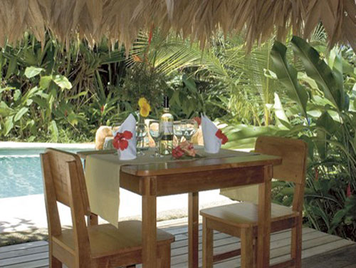 Restaurant in Ihrer Bungalowanlage in Puerto Viejo