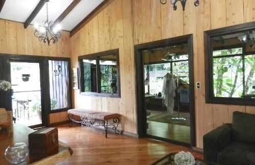 Empfangsbereich der Lodge