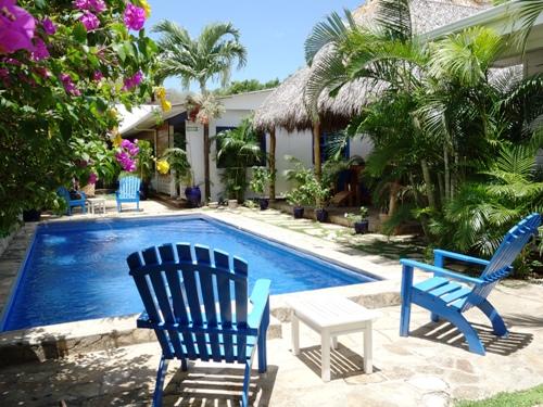 Ein erfrischender Pool in San Juan