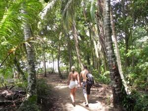 Ausflug im Cahuita Nationalpark