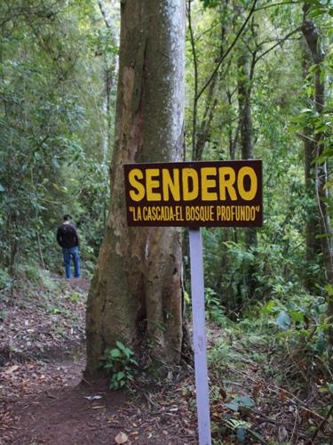 Wanderwege im Cerro Arenal