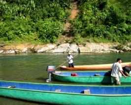Mit dem Kanu zu den Bribris