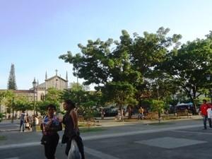 Zentraler Platz in León bei Rundreise durch Mittelamerika
