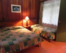 Zimmer der Komfortunterkunft in Monteverde