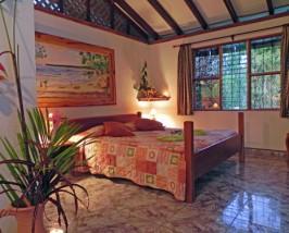 Zimmer der Komfortunterkunft in Cahuita