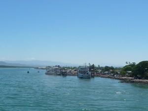 Hafen in Paquera im Golf von Nicoya