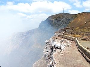Der rauchende Vulkan im Masaya Nationalpark