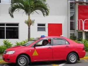 Taxi in San José