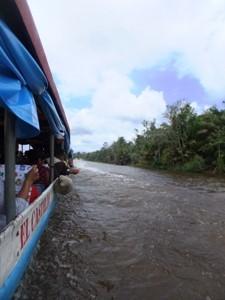 Bootsfahrt über den Rio San Juan