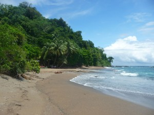Strand der Isla de Caño im Süden Costa Ricas
