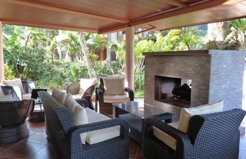 einladende Sitzecke im Hotel in Boquete