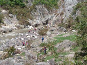 Outdooraktivitäten in der Schlucht des Somoto Canyons