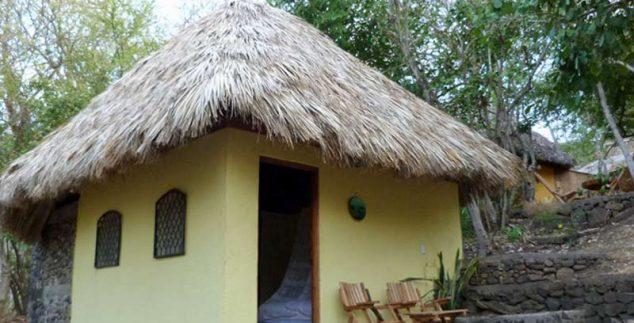 Bungalow der Unterkunft an der Laguna de Apoyo