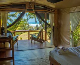 Komfortables Zelt am Corcovado Nationalpark