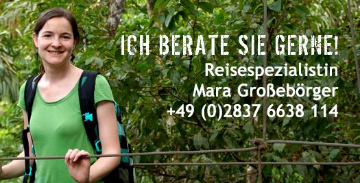 Costa Rica Reisespezialistin Mara Großebörger