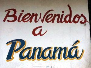 An der Grenze zwischen Costa Rica und Panama
