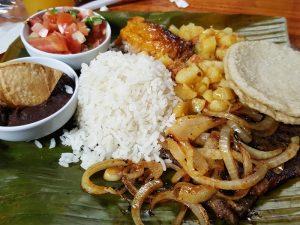 Mittagessen in Costa Rica