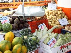 Gemüsestand in Panama