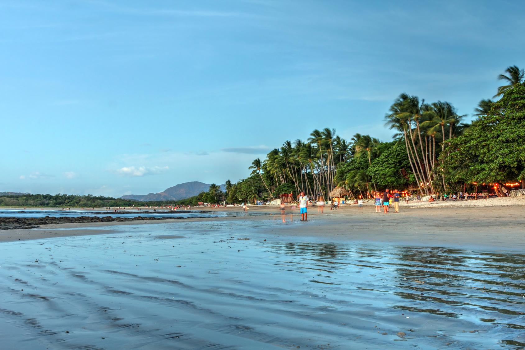 Der Playa Tamarindo