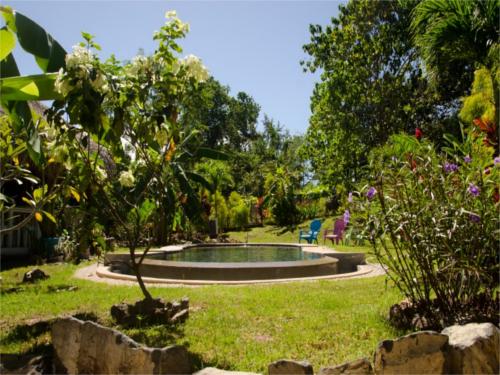 Garten des Glampingcamps