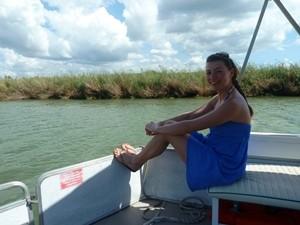Bootsfahrt auf dem Black River