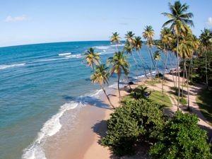 Am Strand von Tobago entspannen